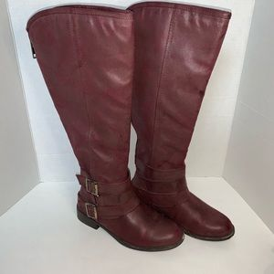 Madden Girl Burgundy Boots